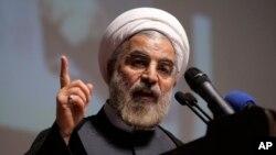حسن روحانی گفت که آرمان ایران با غنی سازی یورانیم گره نخورده است