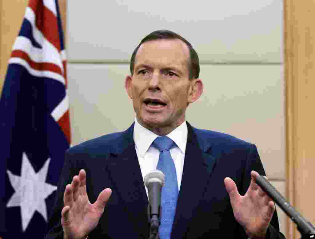 Australian Prime Minister Tony Abbott: ``We all know that there are problems in Ukraine. We also know who is very substantially to blame for those problems, and the idea that Russia can somehow say that none of this had anything to do with them because it happened in Ukrainian air space frankly does not stand up to any serious scrutiny.''