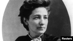 Victoria Claflin Woodhull, shown in this undated file photo, was the first woman to run for president.