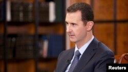 23일 바샤르 알 아사드 시리아 대통령이 중국 관영 CCTV와 인터뷰를 가졌다.