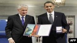 Tổng thống Obama nhận giải Nobel Hòa bình ở Na Uy