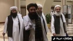 Kantor Taliban di Qatar. (Foto: dok). Taliban telah menyerahkan dokumen tawaran gencatan senjata sementara di Afghanistan yang berlaku tujuh hingga 10 hari.
