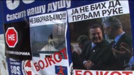 Protestë kundër zgjedhjeve në veriun e Kosovës