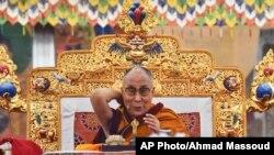 티베트의 정신적 지도자 달라이 라마 (자료사진)