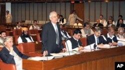 پارلیمانی کمیٹی کی سربراہی سینیٹر رضا ربانی نے کی تھی