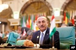 Arhiva - Turski ministar inostranih poslova Melvut Čovašoglu prisustvuje Samitu Organizacije za islamsku saradnju u Meki, Saudijska Arabija, 1. juna 2019.