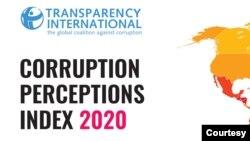 Sangano reTransparency International rakaisa Zimbabwe pachinhanho chezana nemakumi mashanu nenomwe panyika zana nemakumi masere dzine huwori hwakanyanya pasi rose.