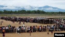بنگلہ دیش روہنگیا کیمپ
