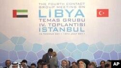 Sa sastanka Kontaktne skupine za Libiju, Istambulu, 15. lipnja 2011.