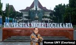 Rektor Universitas Negeri Yogyakarta, Sutrisno Wibowo. (Foto: Courtesy/Humas UNY)