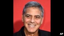 George Clooney à Los Angeles le 22 octobre 2017.