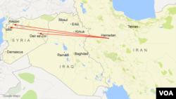 Máy bay chiến đấu Nga sẽ xuất phát từ căn cứ không quân Hamedan.