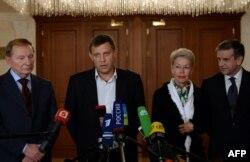 俄罗斯驻乌克兰大使在明斯克就签署停火协议发表谈话