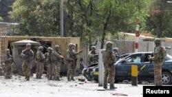 Военнослужащие иностранного контингента в Афганистане «Решительная поддержка»