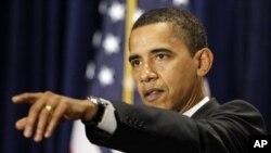 바락 오바마 미 대통령