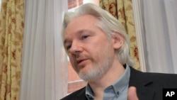 Sáng lập viên Wikileaks Julian Assange.