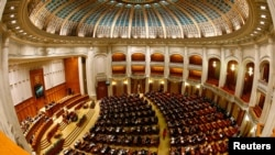 位於羅馬尼亞首都布加勒斯特的議會大廳。