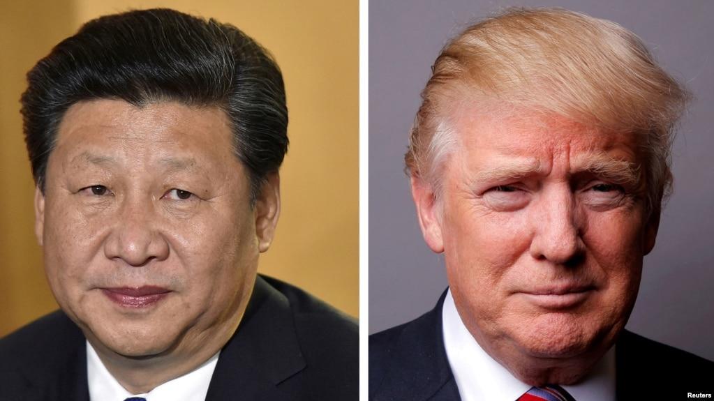 Cuộc gặp với Chủ tịch Trung Quốc Tập Cận Bình (trái) của Tổng thống Mỹ Donald Trump (phải) được nhận định là thử thách lớn nhất của ông Trump.