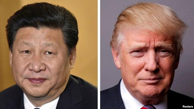 Tổng thống Mỹ Donald Trump và Chủ tịch Trung Quốc Tập Cận Bình