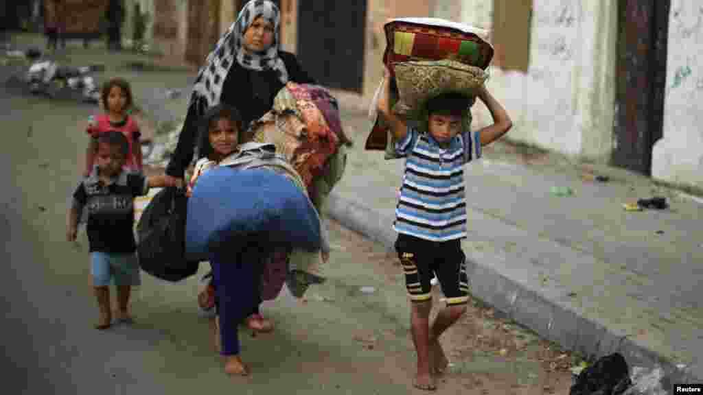 Bafalasdine a Gaza City, Yuli 29, 2014.