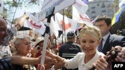 Бывший премьер-министр Украины Юлия Тимошенко.