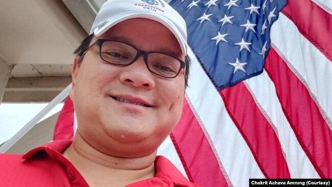 Chakrit Achava Amrung, a Thai-American living in Pompano Beach, Florida