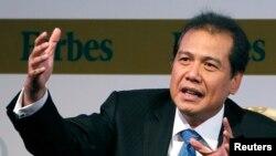 Menteri Koordinasi bidang Perekonomian Chairul Tanjung.