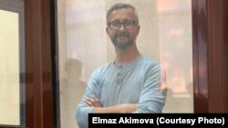 Наріман Джелял на засіданні контрольованого Росією суду в Симферополі, 6 вересня 2021 року. Фото Радіо Свобода