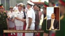 Mỹ trao tàu tuần tra, tăng cường hỗ trợ tuần duyên VN