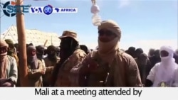 VOA60 Africa - Al-Qaeda in the Islamic Maghreb calls for return of sharia law in north Mali