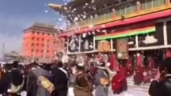 Smuggled Video Shows The Dalai Lama's 80th Birth Year Celebrations In Tibet