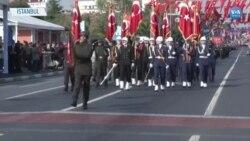 İstanbul'da Coşkulu 29 Ekim Kutlaması