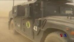 伊拉克军队进入伊斯兰国占领的摩苏尔