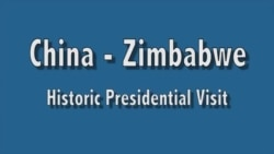 China - Zimbabwe : Presidential visit