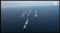 К побережью Корейского полуострова движется американская эскадра