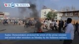 VOA60 Africa - Sudan General Declares 'State of Emergency' in Coup Attempt