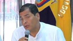 就斯诺登避难问题厄瓜多尔总统抨击美国