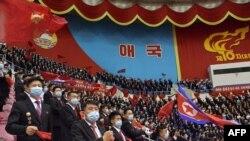 지난 4월 북한 평양에서 '김일성-김정일주의 청년동맹 제10차 대회'가 열렸다.