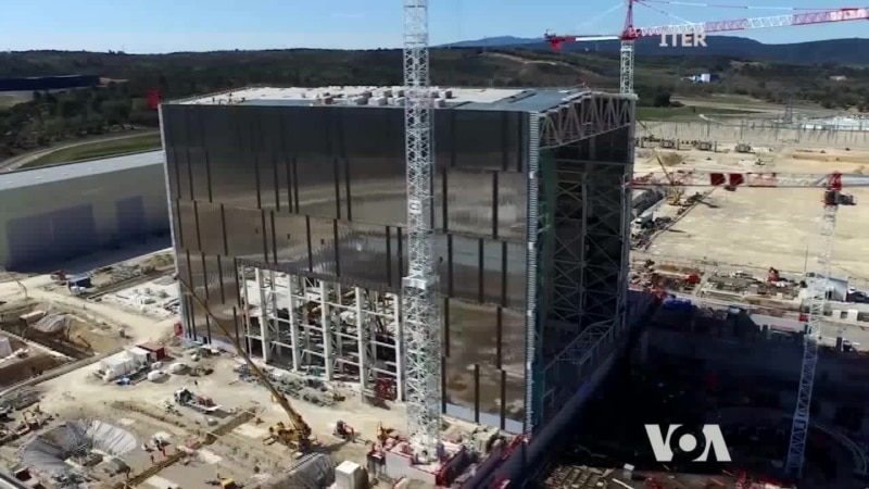 Fusion Reactor Under Construction in France Halfway Complete