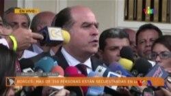 親政府派衝擊委內瑞拉全代會扣押幾百名人質 (粵語)