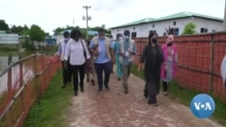 রোহিঙ্গা ক্যাম্পপরিদর্শন করেছেন আন্তর্জাতিক সম্প্রদায়ের প্রতিনিধিরা