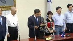 马英九辞国民党主席 朱立伦接班呼声高