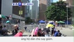 Biểu tình ở Hồng Kông lắng xuống (VOA60)