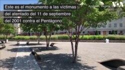 Monumento a las víctimas del 11 de septiembre en el Pentágono