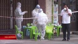 Bệnh viện dã chiến Covid ở Sài Gòn