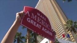 总统大选终场激辩 双方支持者反应激烈