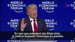 """""""L'Amérique d'abord ne signifie pas l'Amérique seulement"""", selon Trump (vidéo)"""