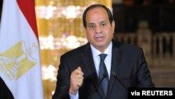Presiden Mesir Abdel-Fattah al-Sisi