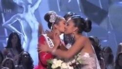美国佳丽摘得2012环球小姐后冠