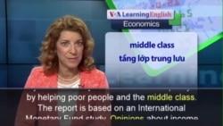 Anh ngữ đặc biệt: IMF Income Inequality (VOA)